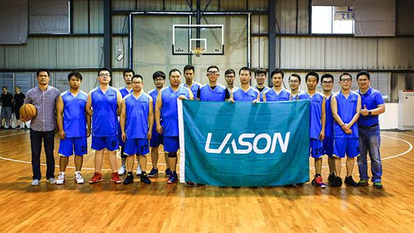 蓝必盛员工篮球赛活动,丰富大家业余生活