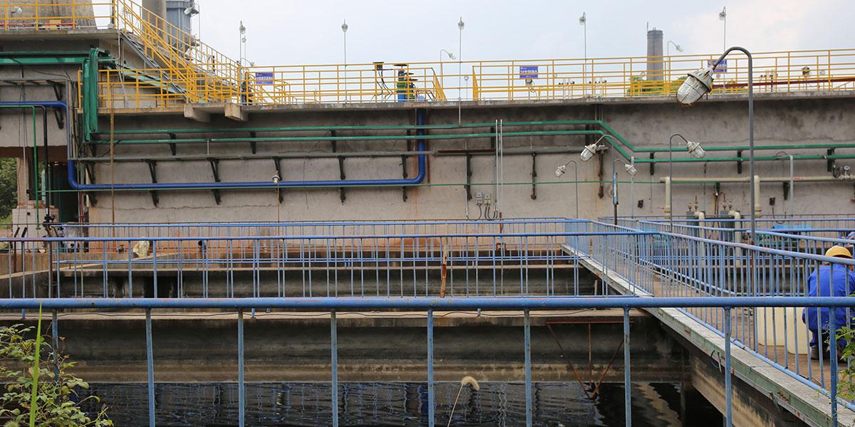 安徽中山与蓝必盛合作生产废水处理工程案例