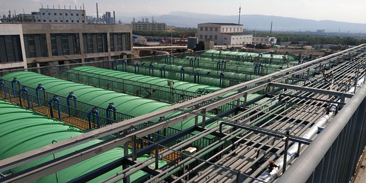 内蒙古泰兴泰丰化工与蓝必盛合作废水处理工程案例