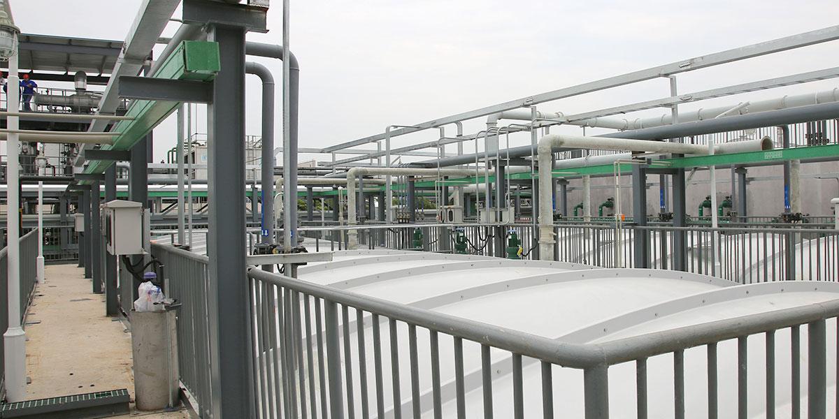 无锡三开高纯化工与蓝必盛合作生产废水处理案例